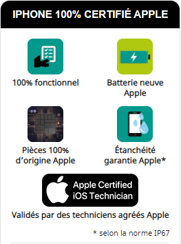 certification apple detail